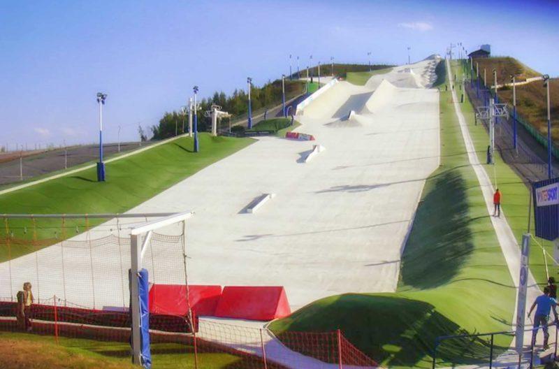 colonie piste de ski