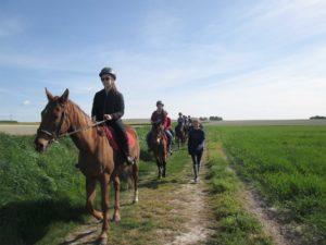 colonie ballade à cheval