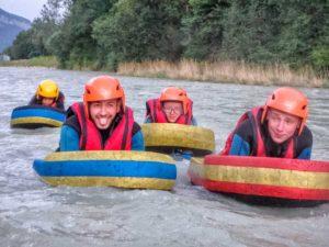 colonie rafting