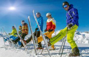 colonie ski st gervais